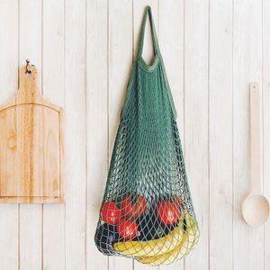 Handbags - Crochet French Market Bag - Green